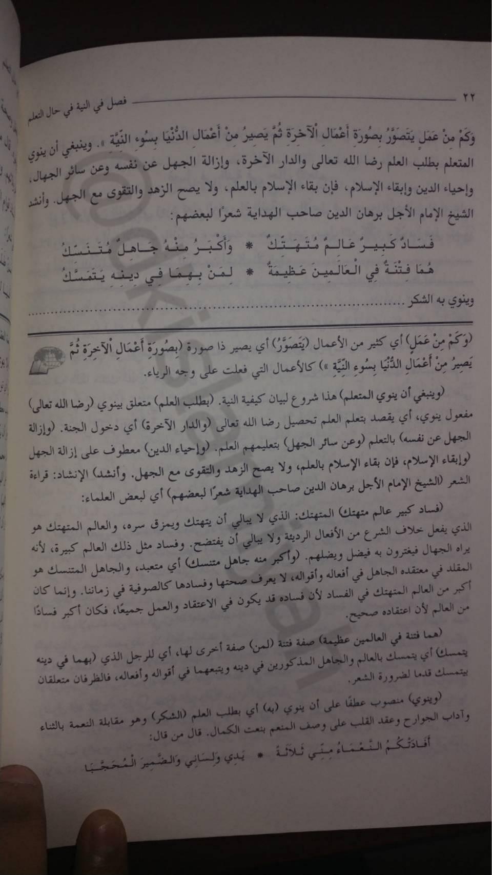 SYARH TA'LIM AL-MUTA'ALLIM