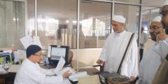 Kunjungan Rektor Universitas al-Ahgaff Mukalla Hadhromaut Yaman